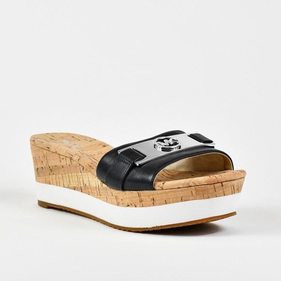 0419f0bd7c9 Michael Kors Women s Warren Platform Wedge Sandals